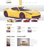 Cars Drupal  Template 51949