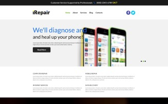 Fixing PC Issues Joomla Template