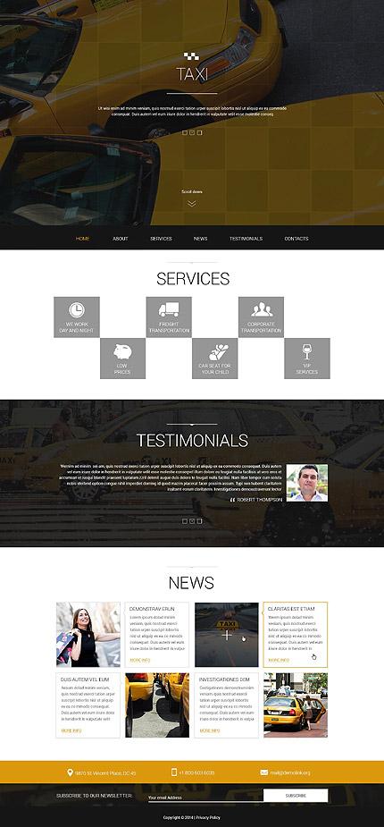 Joomla Theme/Template 51955 Main Page Screenshot
