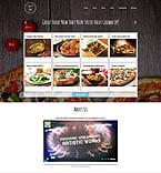 Cafe & Restaurant Joomla  Template 51957