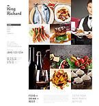 Cafe & Restaurant Joomla  Template 51959