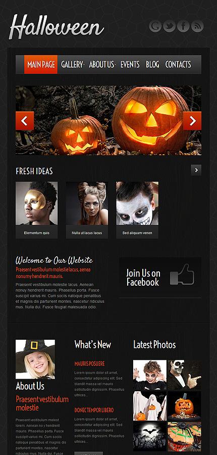 WordPress Theme/Template 51972 Main Page Screenshot