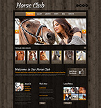 Animals & Pets WordPress Template 51973