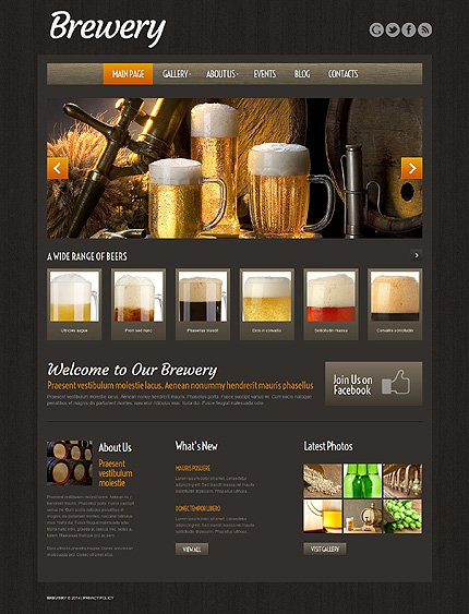 WordPress Theme/Template 51974 Main Page Screenshot