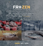 Food & Drink Website  Template 51978