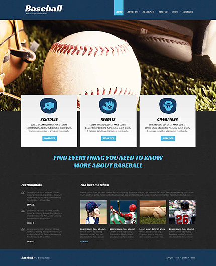 Joomla Theme/Template 51979 Main Page Screenshot