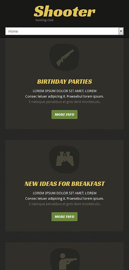 Joomla Theme/Template 51980 Main Page Screenshot