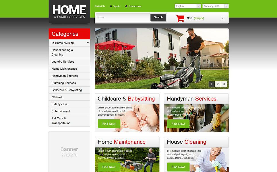 Responsywny szablon PrestaShop #51982 na temat: usługi naprawcze i konserwacyjne New Screenshots BIG