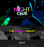 Night Club WordPress Template 51986