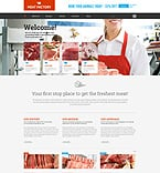 Food & Drink WordPress Template 51992