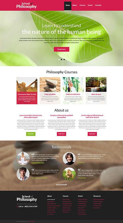 Drupal Template 51997 Main Page Screenshot