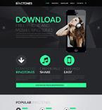 Music Website  Template 51999