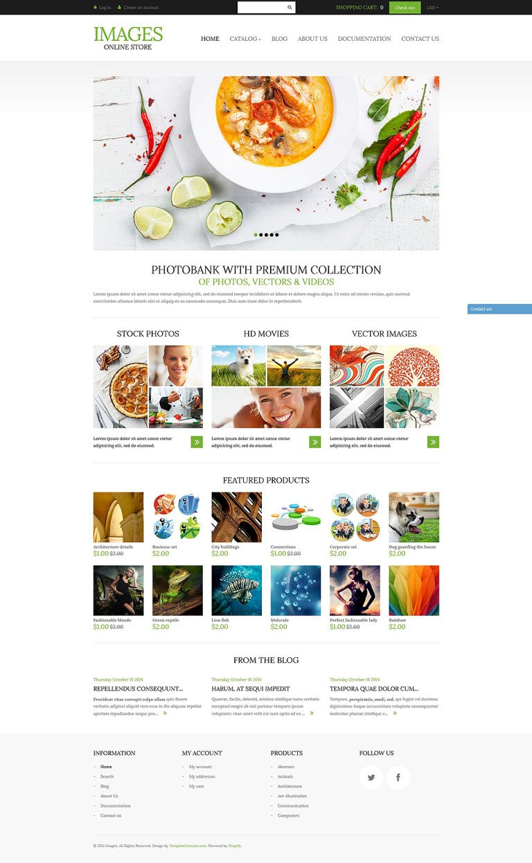 Art Photography Shopify Theme New Screenshots BIG