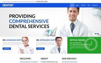 Dental Health and Care Joomla Template