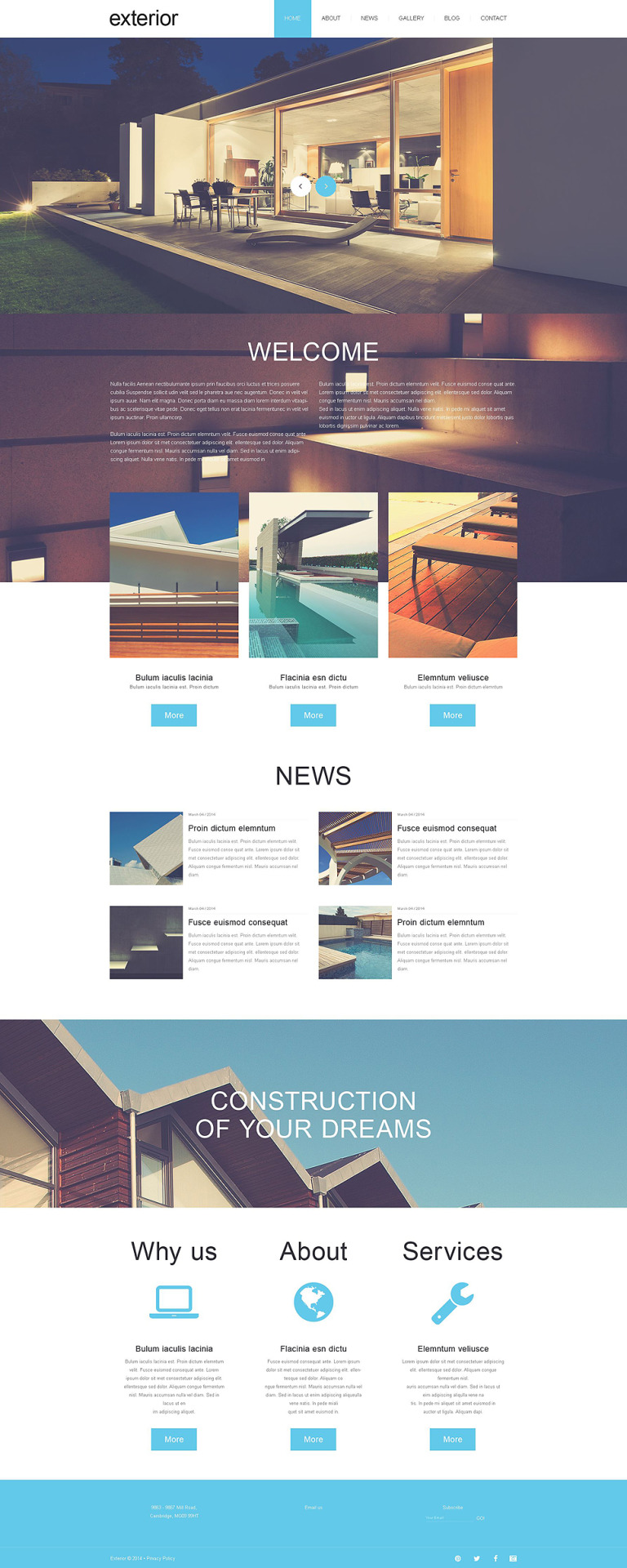 Exterior Design Muse Template New Screenshots BIG