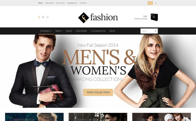 Fashion Board OpenCart Template