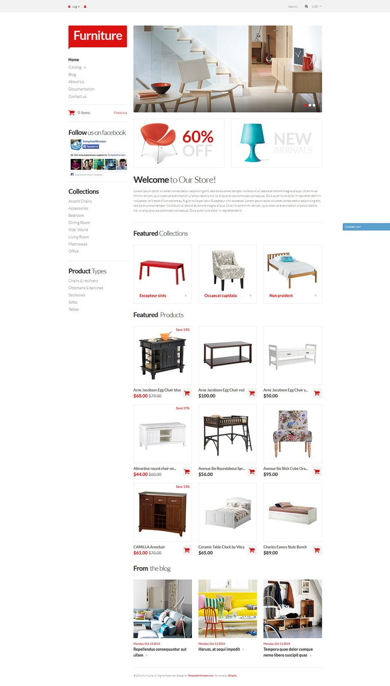 Furniture Pieces Shopify Theme New Screenshots BIG