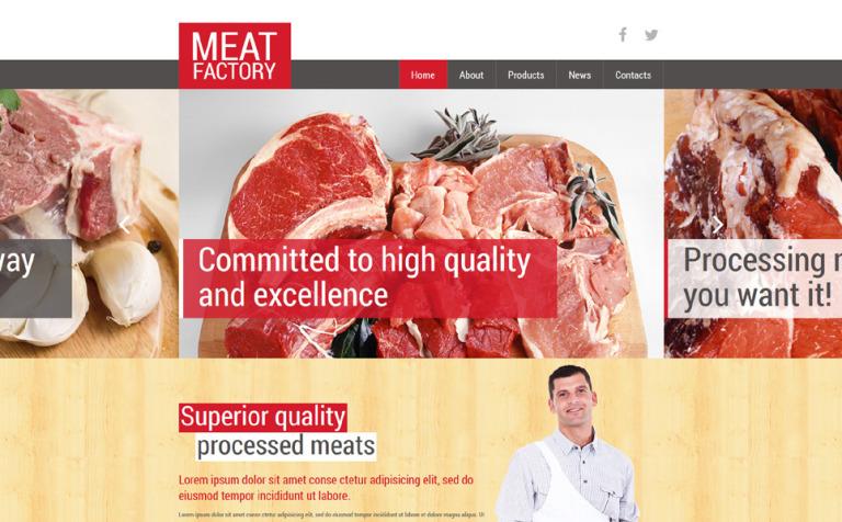 Healthy meat factory joomla template 51977 healthy meat factory joomla template new screenshots big toneelgroepblik Gallery