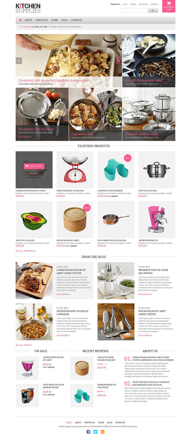 Housewares Responsive WooCommerce Theme New Screenshots BIG