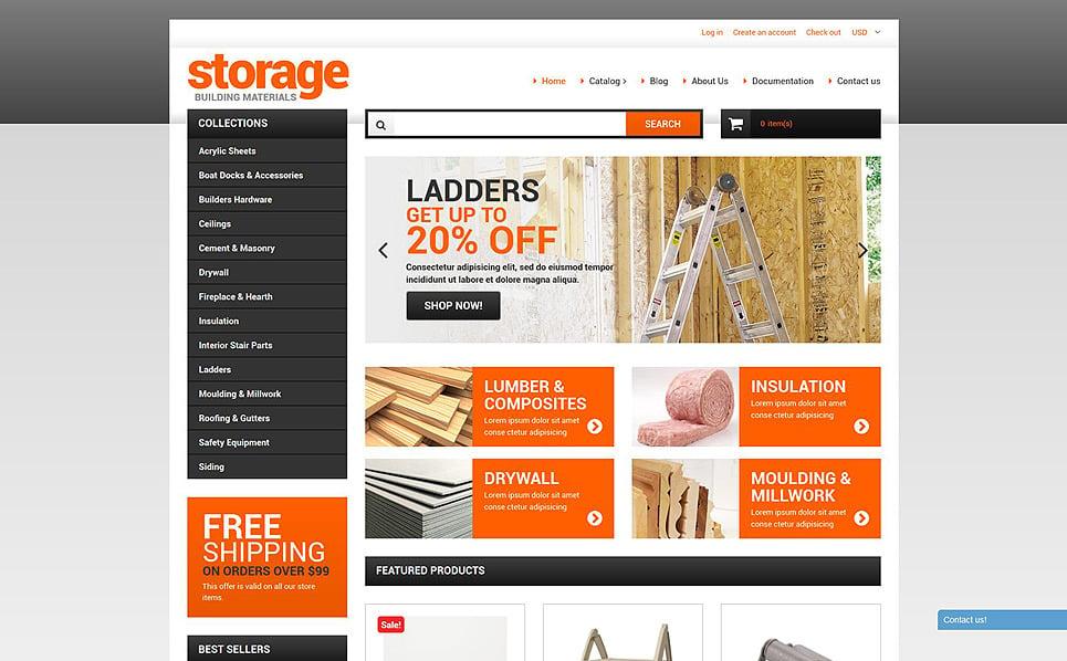 Modello Shopify Responsive #51968 per Un Sito di Riparazione Casa New Screenshots BIG