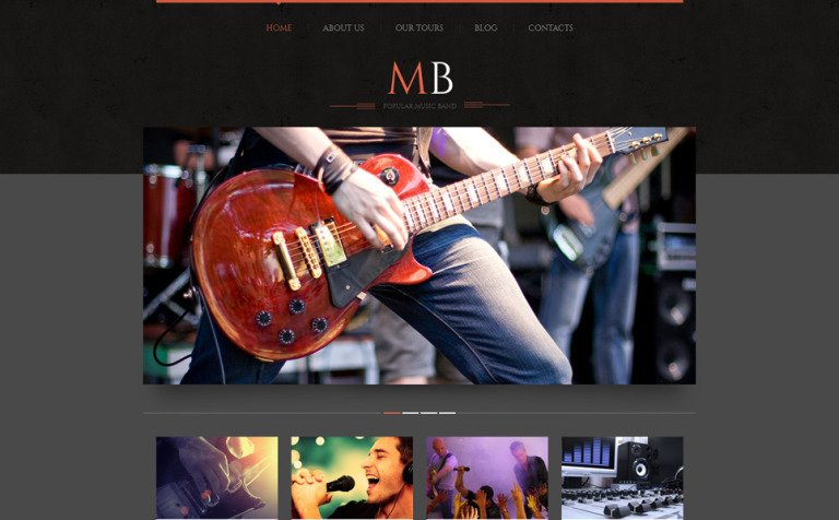 13 Music Blog Themes & Templates