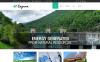 Plantilla Web para Sitio de Energía eólica New Screenshots BIG