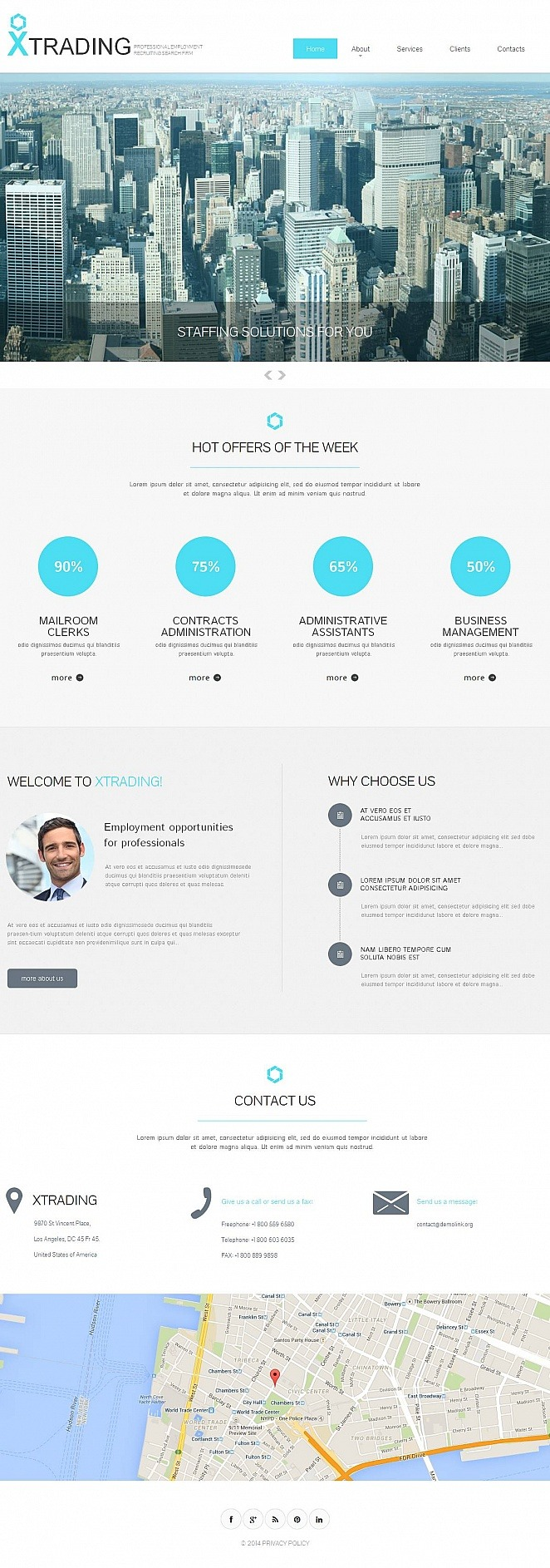 Public Relations Moto CMS HTML Template New Screenshots BIG