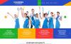 Responsive WordPress thema over Schoonmaakbedrijf  New Screenshots BIG