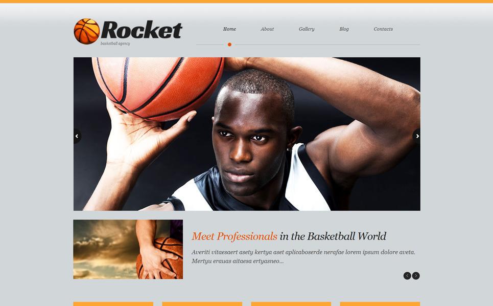 Responsywny motyw WordPress #51915 na temat: koszykówka New Screenshots BIG