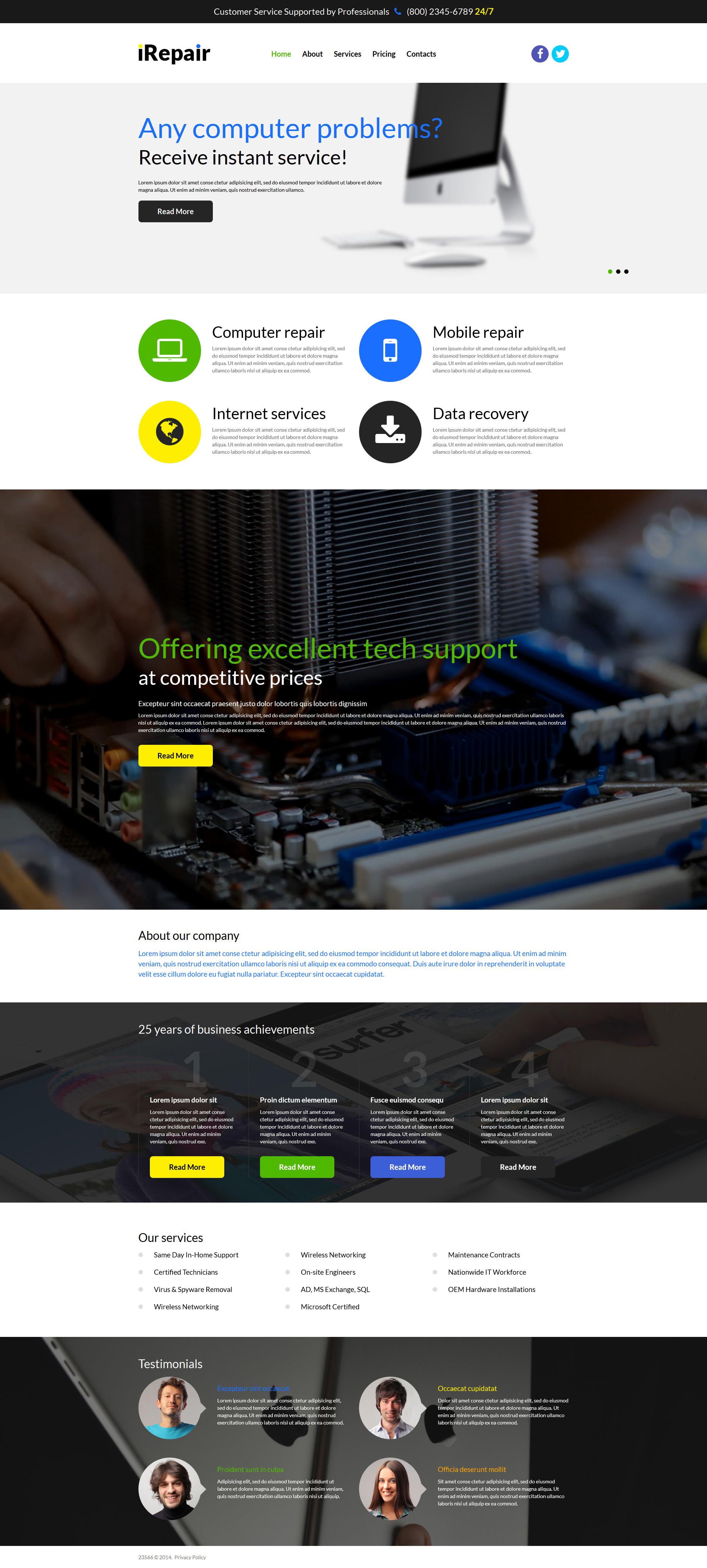 Responsywny szablon Joomla Fixing PC Issues #51950