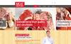 Reszponzív Healthy Meat Factory Joomla sablon New Screenshots BIG