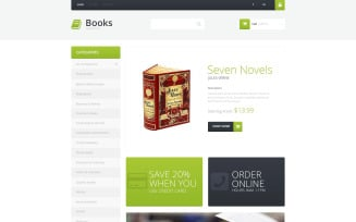 Selling Books PrestaShop Theme