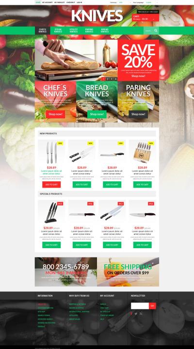 Responsive Tema Magento #51921 para Sitio de  para Tienda de Artículos para el Hogar