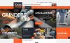 ZenCart шаблон №51965 на тему инструменты и оборудование New Screenshots BIG