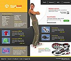 3-Color Website: Sport Online Store/Shop Full Site Fireworks Clean Style 3 Colors