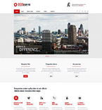 Society and Culture Website  Template 52001