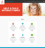 Charity Website  Template 52004