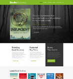 Books Website  Template 52006