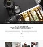 Art & Photography Website  Template 52007