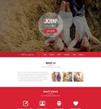 Dating Website  Template 52008