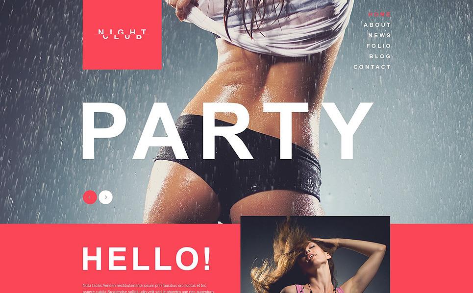 Szablon Muse #52010 na temat: klub nocny New Screenshots BIG