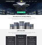 Web Hosting Muse  Template 52011