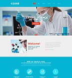 Science Drupal  Template 52016