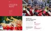 Responsivt Hemsidemall för musikband New Screenshots BIG
