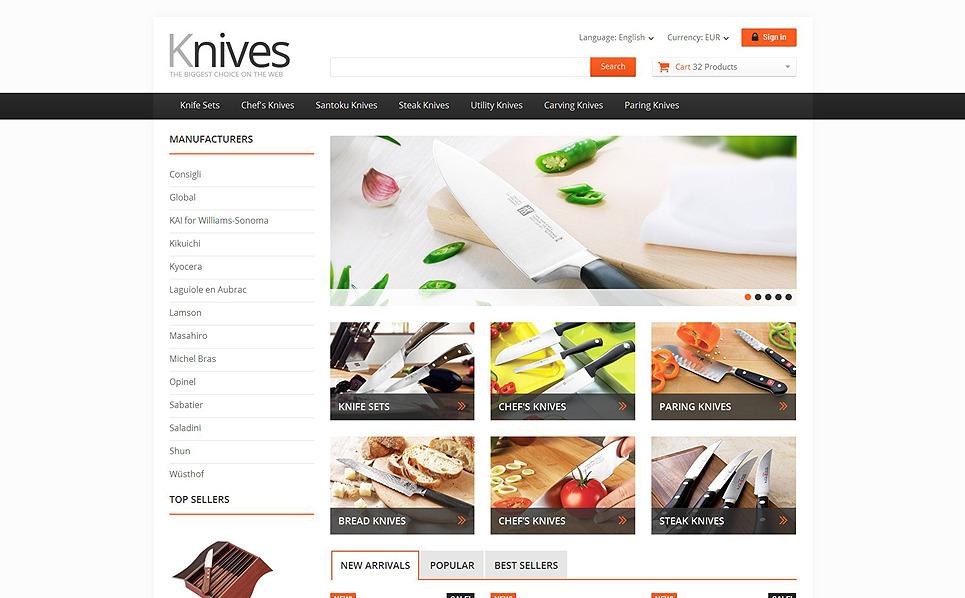 Responsive PrestaShop Thema over Housewares New Screenshots BIG