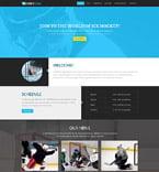 Sport Joomla  Template 52028