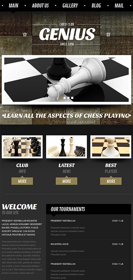 Joomla Theme/Template 52032 Main Page Screenshot