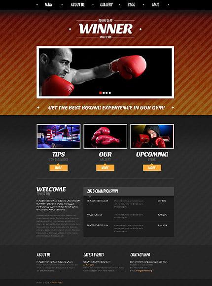 Joomla Theme/Template 52034 Main Page Screenshot