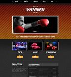 Sport Joomla  Template 52034