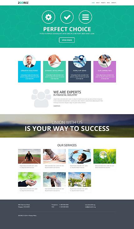 WordPress Theme/Template 52036 Main Page Screenshot